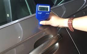 Paint meter test